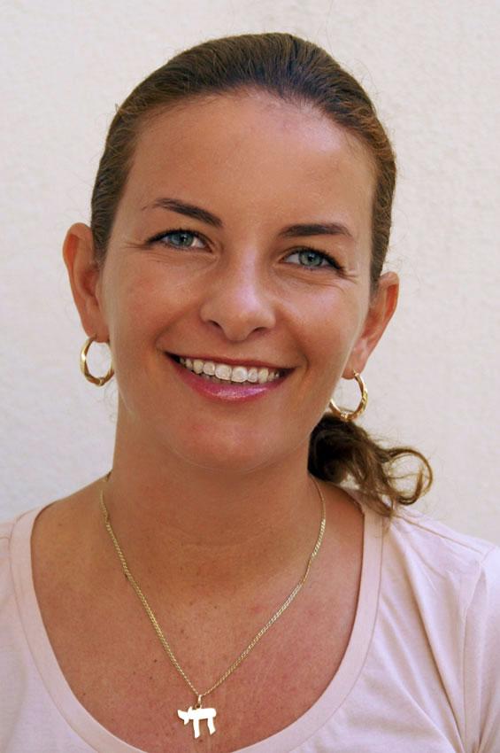 Raquel M. Jovic,  Leiterin der Nachmittagsbetreuung