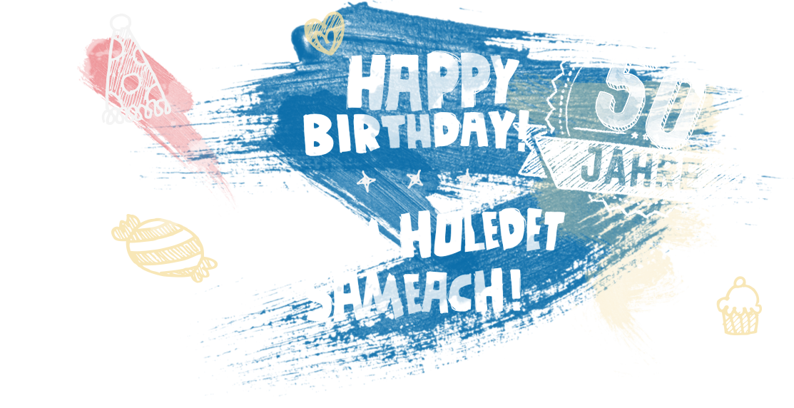 Happy birthday – Jom Huledet sameach!