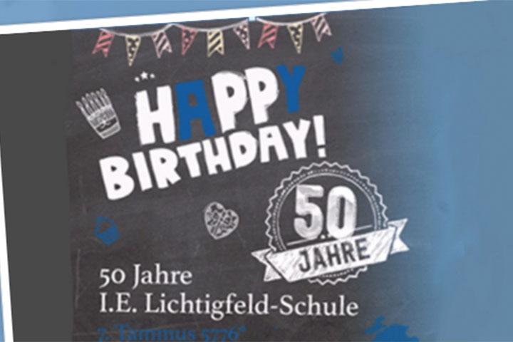 50 Jahre I.E. Lichtigfeld Schule