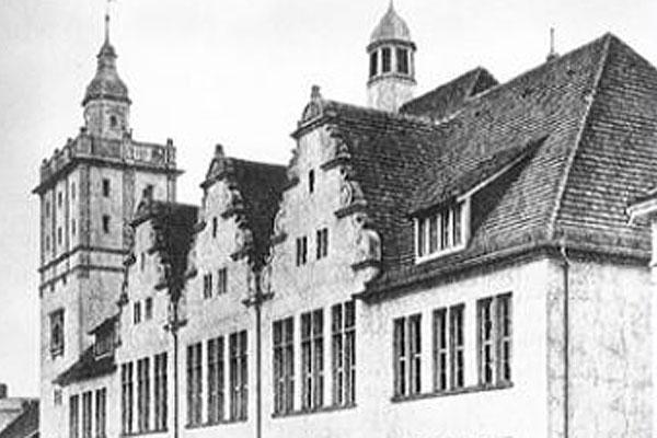 Schulgebäude in der Hebelstrasse