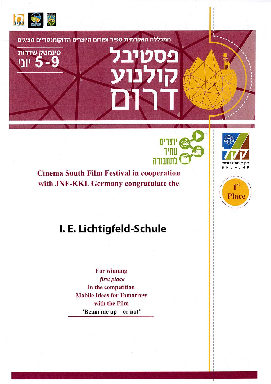 Bäume und Wasser für Israel: die Gewinnerreise des Mobile-Ideen-Wettbewerbs des JNF-KKL