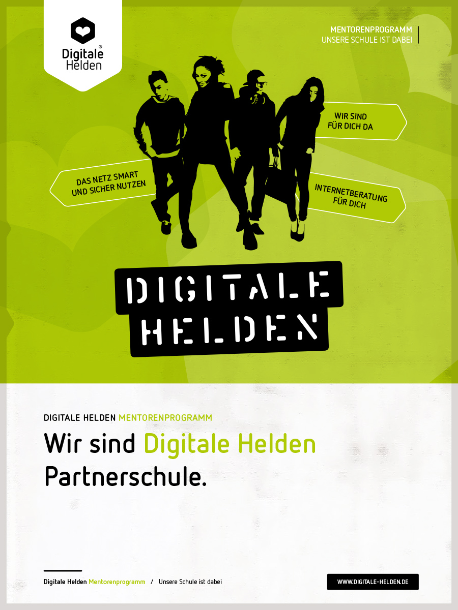 Wir sind Digitale Helden Partnerschule